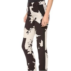 Rachel Roy Animal Print Hide Trouser Pants